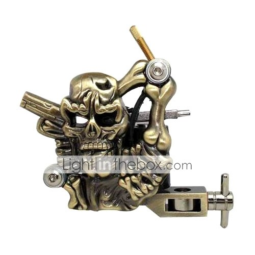 Empaistic Tattoo Machine - Carbon Alloy Angry Skull Frame