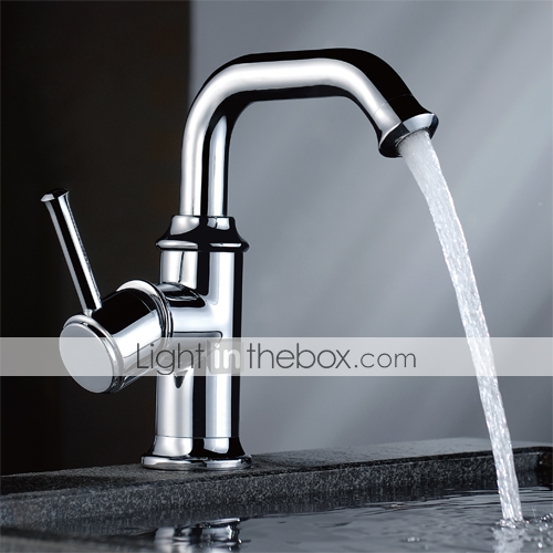 Single Handle Chrome Centerset Kitchen Faucet - Free Shipping (0634-2220)