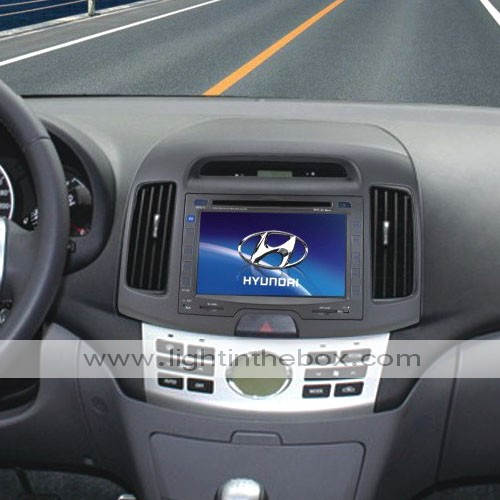 6 inch Touch Screen Car DVD Player-TV-FM-Bluetooth For Hyundai Elantra  2008 to 2009