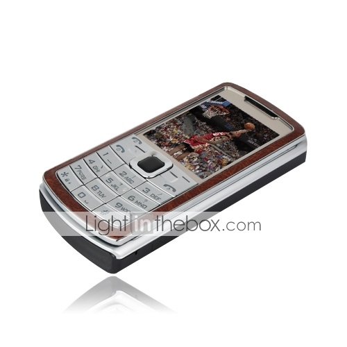 F3 Dual Card Dual Standby Dual Band Flip Cell Phone Black and Silver and Brown (2GB TF Card)(SZ05450191)