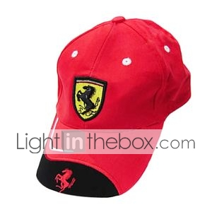 F1 Racing Team Adjustable Fan Cap/Baseball Hat(LGT0918-24)