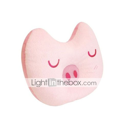 Piggy Cartoon Sleeping Nap Music Pillow for Ipod MP3 MP4 DVD Computer(CEG152)