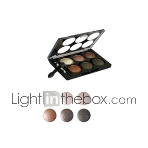 6 Colors Cosmetics Makeup Ultra Shimmer Eye Shadow Palette 8#