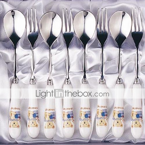 8-pc Luxury Ceramic Handle Kitchen Tableware set (0612-TM-11)