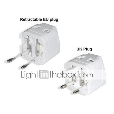 Compact Universal Travel Adapter(TRA217)