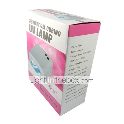 36 Walt Nail Gel UV Lamp 90s/120s/ 110V (0479-11.19-DR-301/A)