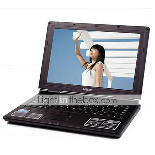 "Hasee Laptop-14,1 ""TFT-Intel Celeron Dual-Core-(Penryn) T3000 1.8GHz-1GB DDR2-160g-DVD-RW-wifi (smq3732)"
