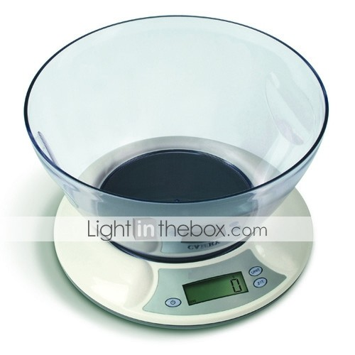 Electronic Kitchen Scale  (0653-GLS1001)