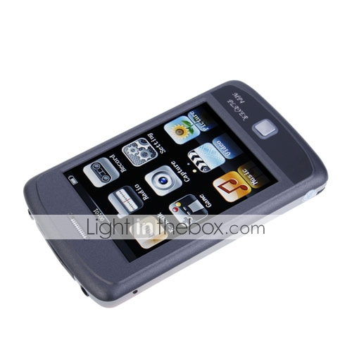 4GB 3.5 pollici touch screen moda design lettore MP4/MP3 con fotocamera digitale auricolare doppio (szm1402)