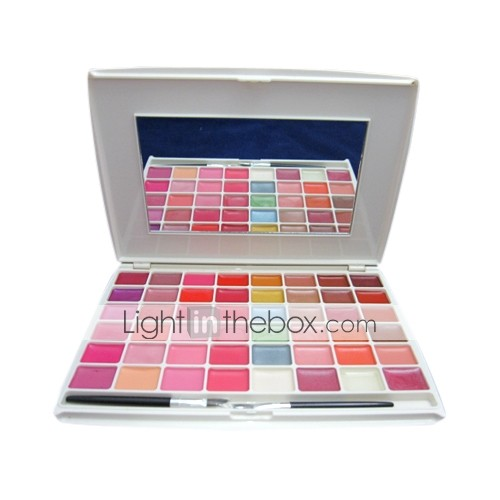 Professional 48 Colors Delicacy Lip Gloss Palette(0594-03.03-5)