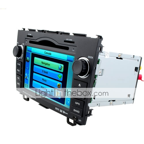 7 inch 2 Din Car DVD Player For 2008-2009 Honda VRC With Bluetooth-GPS-FM-AM