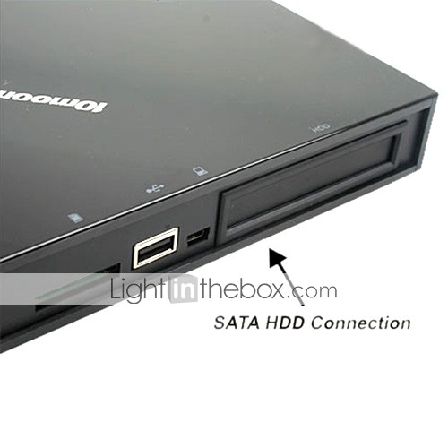 10moons DMP550 HDD Media Player Support HDTV HDMI 1080P RMVB Thunder Download(HVE013)