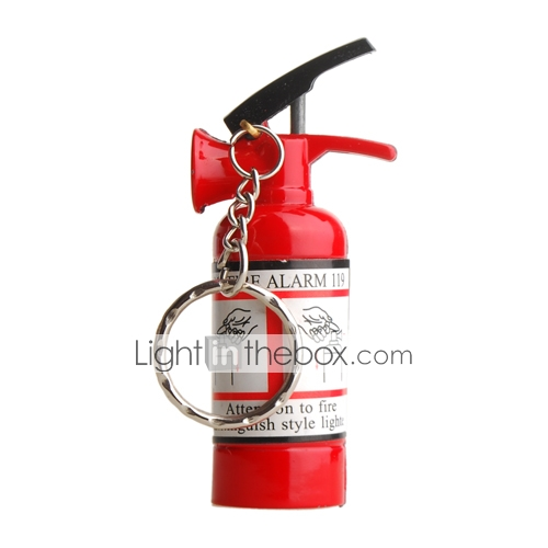 Mini Fire Extinguisher Style Butane Lighter