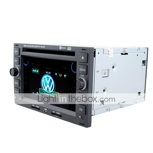 7 inch 2 Din Car DVD Player For 2008-2009 Passat - Bora - Golf - Polo With Bluetooth-FM-AM