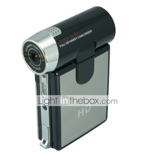youtube-FHD friendlycansonic-10af 1080p 5.0MP CMOS 12.0mp videocámara DV mayor de 3,0 pulgadas LTPS LCD de zoom digital de 4x 3cm de enfoque (dce201)