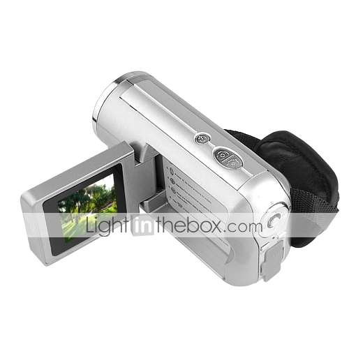 DV137 + 12MP Digital Video Camcorder mit 1,5-Zoll-Schwenk-LCD und 4fach digitaler Zoom (dce1050)