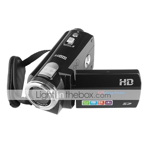 tekxon HC2 hd 720p videocamera digitale 12MP con 2.7