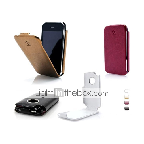 Leather Case for iPhone 3G/3GS -Vertical style (4 Colors Per Pack)(CZAH043)