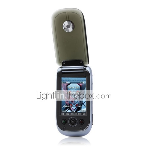 ls09 bande double carte double avec cran tactile FM Bluetooth mobile flip noir (2 Go Carte TF) (sz00720719)