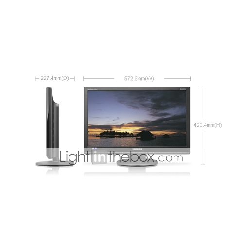 monitor LCD 23.6 pulgadas 2494lw samsung (smq4809)