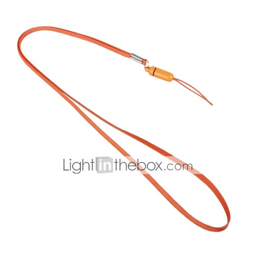 Stylish Neck Strap for Cell Phones and Gadgets (Orange)