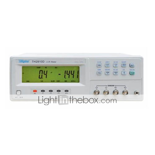 TH2811D LCR Meter Bench Top Accuracy 0.2% 10KHz Lab(H300402132259)