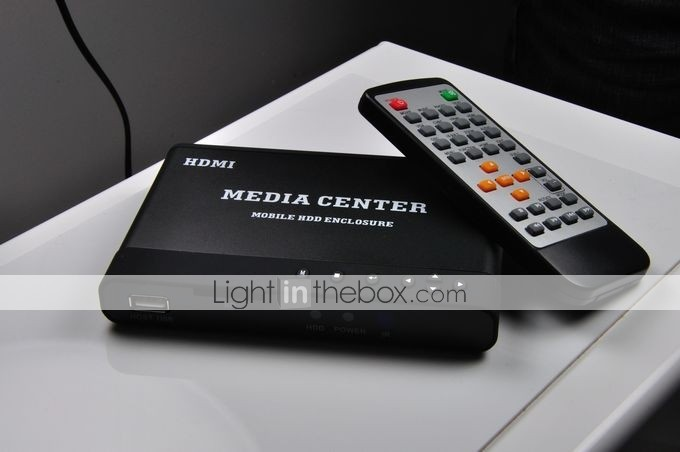 Dzone Portable RMVB 1280 x 768 Multi Media Player For PC AV HDD (HVC052)
