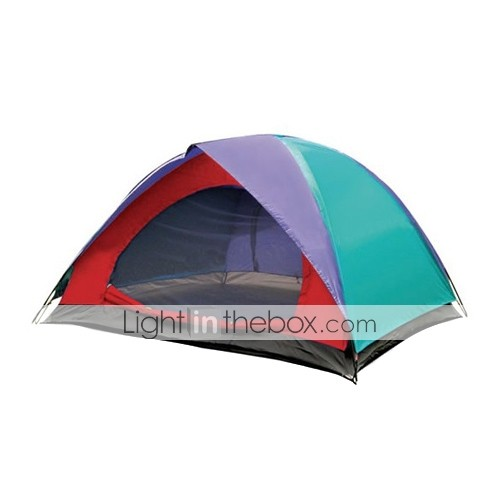 7 X 7-Feet Three-Person Double Layers Dome Tent(0956-05.31-HW-4)