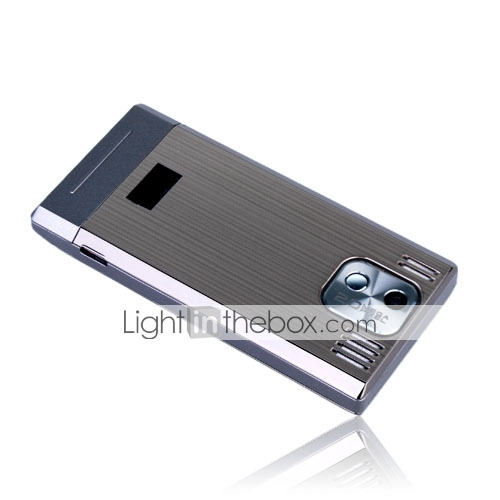 GD900+ Dual Card Dual Band Bluetooth Ultra Thin Touch Screen Slide Cell Phone Gray (2GB TF Card)