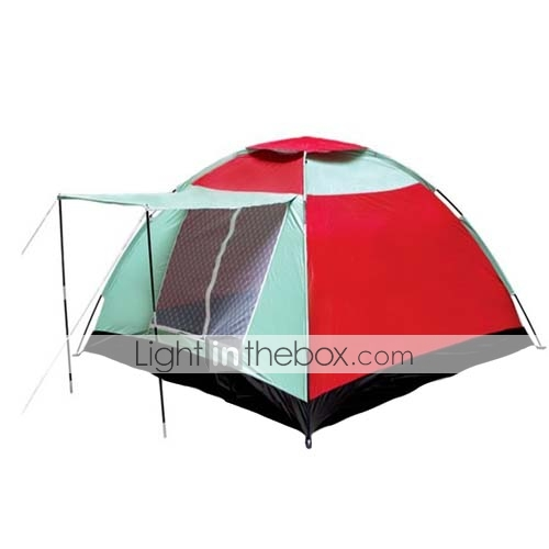 7 X 7-Feet Three-Person Single Layers Tent(0956-05.31-HW-43)