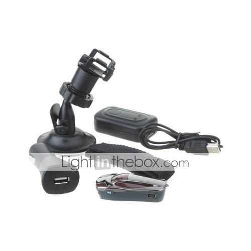 HD Car DVR Camera with Flashlight