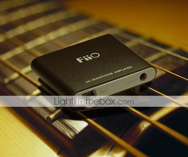 FiiO E5 3.5mm Earphone Volume Booster Power Amplifier (SMQ5193)
