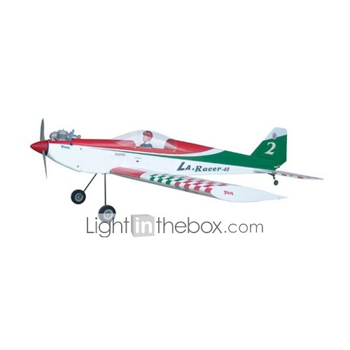 LA RACER 40 Green  + OS46LA/4XS Engine Airplane (0893-TWA235CS1-GRE)