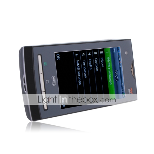 X10 - Dual SIM 3.2 Inch Touch Screen Cell Phone (WIFI, TV, Dual Camera)