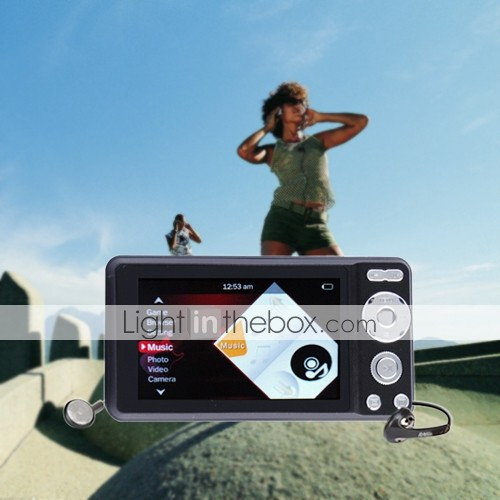 1GB 2.8 Inch Media Player With Digital Camera/Music/Video/FM/Game Function (KLY222)