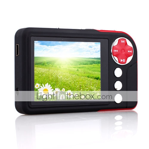 Mp3/mp4/video/camera/game/fm 2gb reproductor multimedia portátil (hy106)