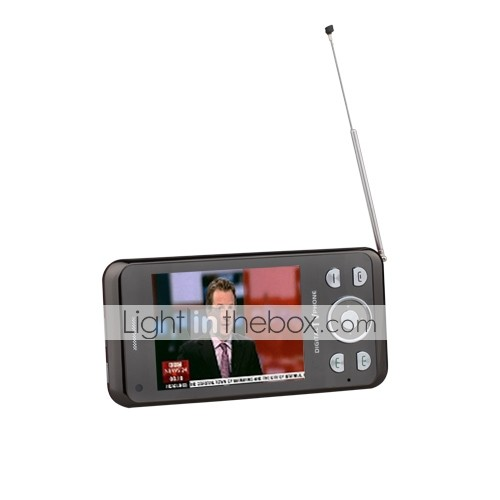 HT868 Dual Sim Dual Camera Tri Band DVB-T TV Touch Screen Cell Phone (2GB TF Card)
