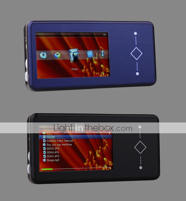 Built-in 2GB MP4 Player 3.0