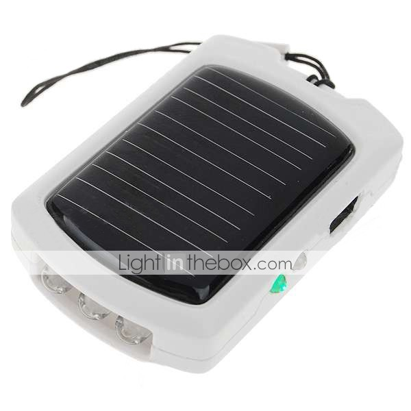 solaire 500mah nergie rechargeable de secours avec des adaptateurs de tlphone portable + 3-conduit de lumire