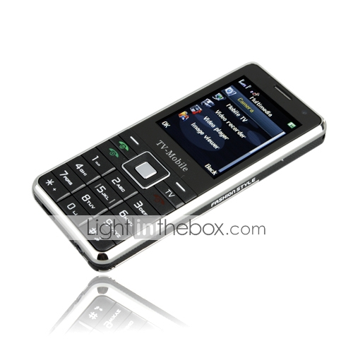 z902 java tv Quad-Band-Karte Dual-Kamera-Handy schwarz (2GB TF Karte)