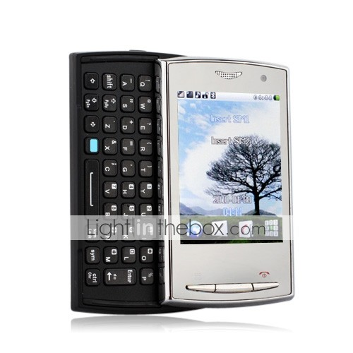 5230 MINI Slide Funtion Dual Card TV JAVA Touch Screen Cell Phone Black(2GB TF Card)