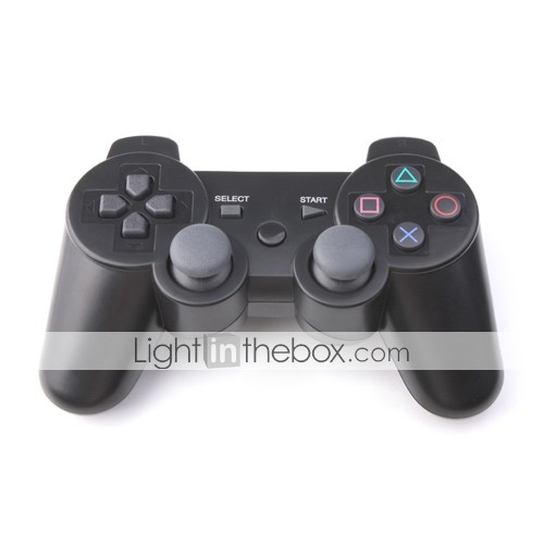 USB Wired Vibrating Control Pad for PS3/PC (Black)