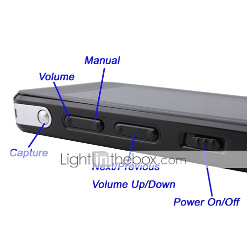 4GB 3.0 Inch Video/Music/FM Radio/Camera/Video Recording/Speaker/Ebook/Game Portable Media Player (HY112)