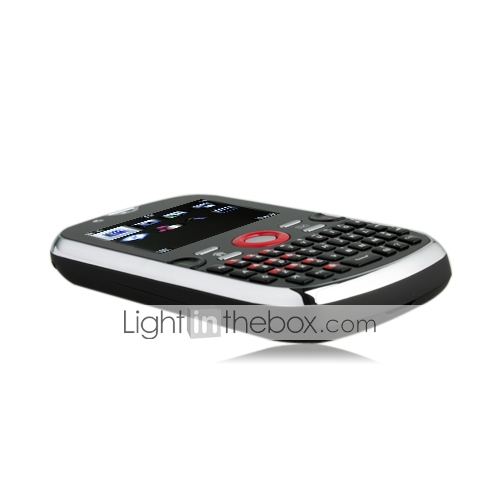 Multimedia QWERTY Dual SIM Cell Phone + Dual Camera + TV (Quadband)