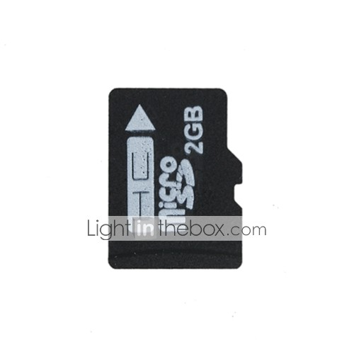 Brand New 2GB Micro SDHC Memory Card with SD Adapte