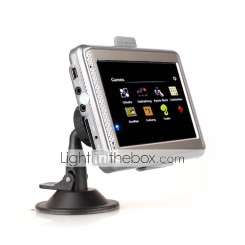 4,3-Zoll-TFT-Touchscreen portable GPS-Navigationssystem-media-games-FM-Transmitter (szc6094)