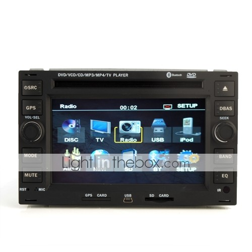 6.2 Inch Special In-Dash Car DVD Player For Volkswagen W/GPS IPOD TV