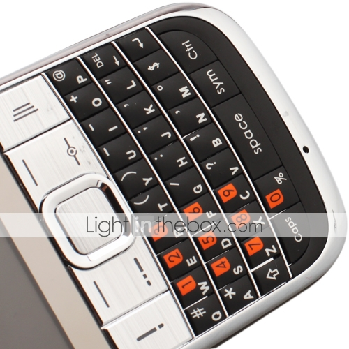 c3 untersttzen drei SIM-Karte TV FM Taschenlampe qwerty Handy schwarz (2GB TF Karte) (sz08560068)