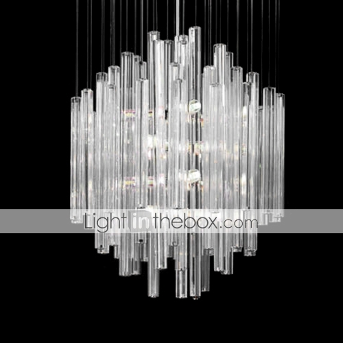 lustre en cristal 8-lumire (1069-MC-22027)