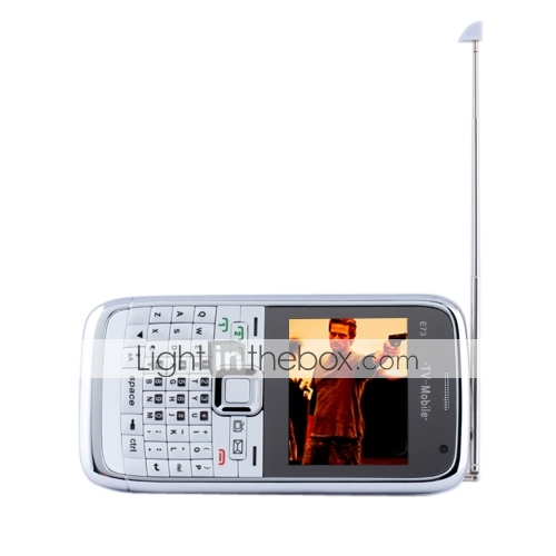 Triple SIM Quadband Cell Phone with QWERTY Keypad + TV
